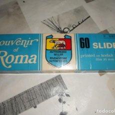 Fotografía antigua: COLECCION DIAPOSITIVAS DE ROMA.AÑOS 70.. Lote 149330618
