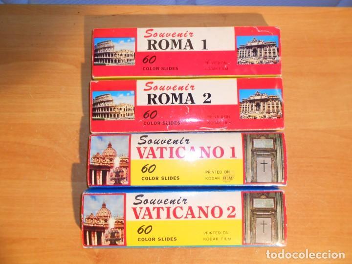 COLECCION ROMA (Fotografía Antigua - Diapositivas)