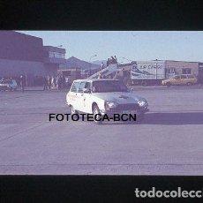 Fotografía antigua: OPERACION ICARO 80 AEROPUERTO EL PRAT BARCELONA AMBULANCIA CRUZ ROJA SIMULACRO CATASTROFE AÑO 1980. Lote 149464122