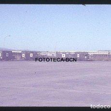 Fotografía antigua: OP. ICARO 80 AEROPUERTO EL PRAT CRUZ ROJA CAMIONES AMBULANCIA AVIA SIMULACRO CATASTROFE AÑO 1980. Lote 149472382