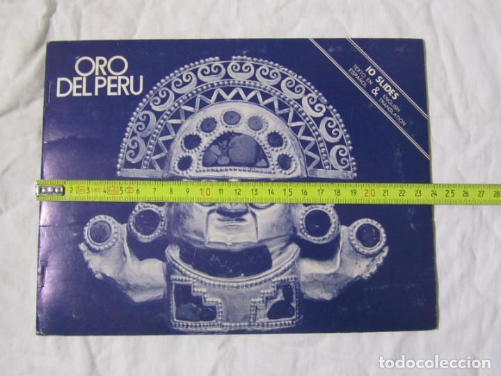 Fotografía antigua: Oro del Perú. Colección de diapositivas - Foto 3 - 149521910