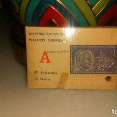 Fotografía antigua: ANTIGUO FILOESTUCHE MATERIAL PARA SELLOS. . Lote 151166218