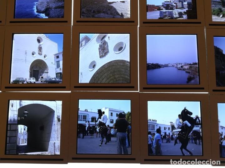 Fotografía antigua: LOTE DE MAS DE 80 DIAPOSITIVAS DE 6X6 MENORCA AñOS 60/70 - Foto 4 - 155202028