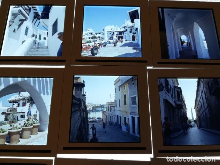 Fotografía antigua: LOTE DE MAS DE 80 DIAPOSITIVAS DE 6X6 MENORCA AñOS 60/70 - Foto 13 - 155202028