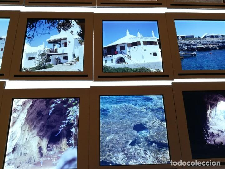 Fotografía antigua: LOTE DE MAS DE 80 DIAPOSITIVAS DE 6X6 MENORCA AñOS 60/70 - Foto 23 - 155202028