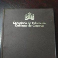 Fotografía antigua: ALBUM CON LOTE SERIE COMPLETA DE DIAPOSITIVAS FAUNA DE LAS ISLAS CANARIAS . Lote 151551186
