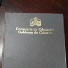 Fotografía antigua: ALBUM CON LOTE SERIE COMPLETA DE DIAPOSITIVAS GEOLOGÍA DE LAS ISLAS CANARIAS EVOLUCIÓN DEL PAISAJE. Lote 151551330