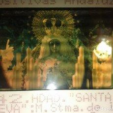 Fotografía antigua: DIAPOSITIVA VIRGEN SANTA GENOVEVA - SEVILLA. Lote 152004286