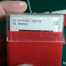 Fotografía antigua: DIAPOSITIVAS UNIDADES DIDACTICAS DE ENSEÑANZA PRIMARIA ENOSA TEMATICA LA PRIMERA VUELTA AL MUNDO. Lote 155715178