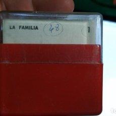 Fotografía antigua: DIAPOSITIVAS UNIDADES DIDACTICAS DE ENSEÑANZA PRIMARIA ENOSA TEMATICA LA FAMILIA. Lote 155715226