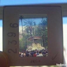 Fotografía antigua: SEMANA SANTA DE SEVILLA : DIAPOSITIVA DE VIRGEN EN PASO DE PALIO. Lote 156831586