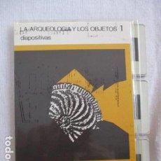 Fotografía antigua: LA ARQUEOLOGÍA Y LOS OBJETOS 1 / 12 DIAPOSITIVAS - MUSEO PROVINCIAL DE ARQUEOLOGÍA DE ÁLAVA. Lote 156923546
