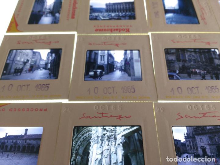 Fotografía antigua: 20 DIAPOSITIVAS AÑOS 60 SANTIAGO DE COMPOSTELA, CORUÑA. VER FOTOS - Foto 2 - 159270494