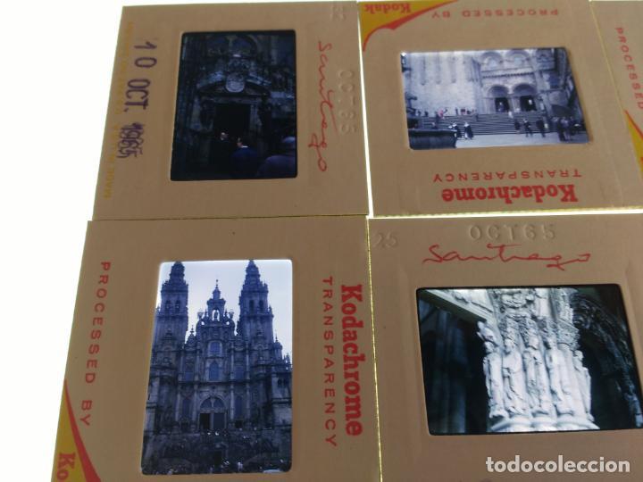Fotografía antigua: 20 DIAPOSITIVAS AÑOS 60 SANTIAGO DE COMPOSTELA, CORUÑA. VER FOTOS - Foto 5 - 159270494