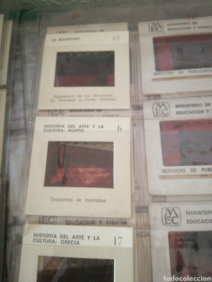 Fotografía antigua: DIAPOSITIVAS DE PINTURA Y ARTE VARIOS - Foto 3 - 159982110