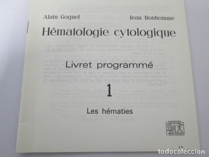Fotografía antigua: HEMATOLOGIE CYTOLOGIQUE. ALAIN GOGUEL. JEAN BONHOMME. PRODUITS ROCHE. DIAPOSITIVAS - Foto 6 - 160091514