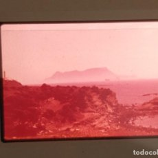 Fotografía antigua: ANTIGUA VISTA - CLICHE DIAPOSITIVA - ALGECIRAS GETARES - CADIZ. Lote 163037362