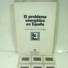 Fotografía antigua: 24X DIAPOSITIVAS - EL PROBLEMA ENERGETICO EN ESPAÑA 3 -MINISTERIO DE INDUSTRIA 1982- DIAPOSITIVA. Lote 166503750