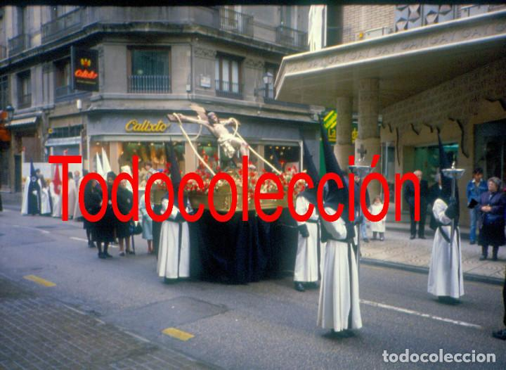 Fotografía antigua: Zaragoza. Semana Santa años 80 Lote de tres diapositivas - Foto 2 - 167870264