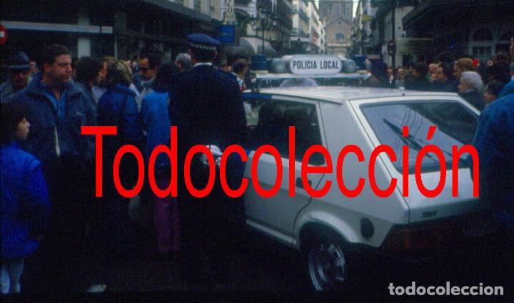 Fotografía antigua: Zaragoza. Semana Santa años 80 Lote de tres diapositivas - Foto 3 - 167870264