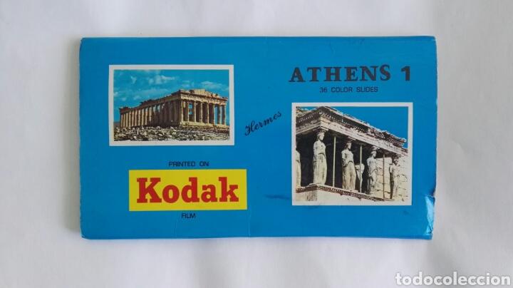ATHENS 1 KODAK DIAPOSITIVAS ATENAS GRECIA (Fotografía Antigua - Diapositivas)