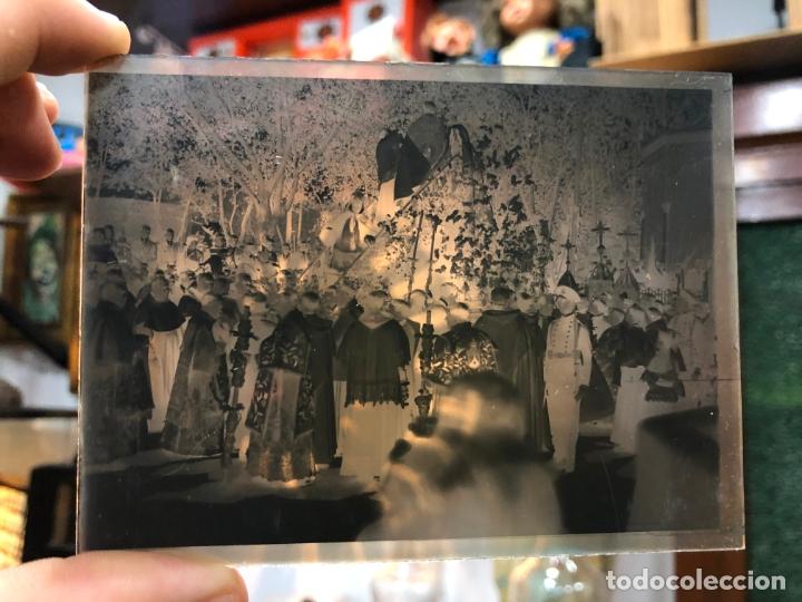 MAGNIFICO LOTE DE NEGATIVOS FOTOGRAFICOS SOBRE LA CORONACION VIRGEN CARMEN DE JEREZ Y ALFONSO XIII (Fotografía Antigua - Diapositivas)