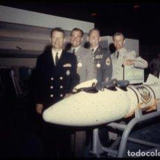 Fotografía antigua: 15 DIAPOSITIVAS AVIONES COMBATE USAF, MISILES GUERRA FRÍA · MB-1 GENIE MISSILE · NIKITA JRUSHCHOV. Lote 171062027