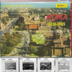 Fotografía antigua: ROMA 2 60 DIAPOSITIVAS COLOR ORIGINALES DE KODAK FILM. Lote 171160793