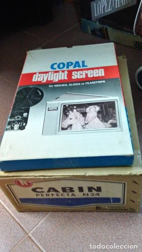 Fotografía antigua: PROYECTOR DIAPOSITIVAS CABIN PERFECTA 24 - Foto 7 - 171548814