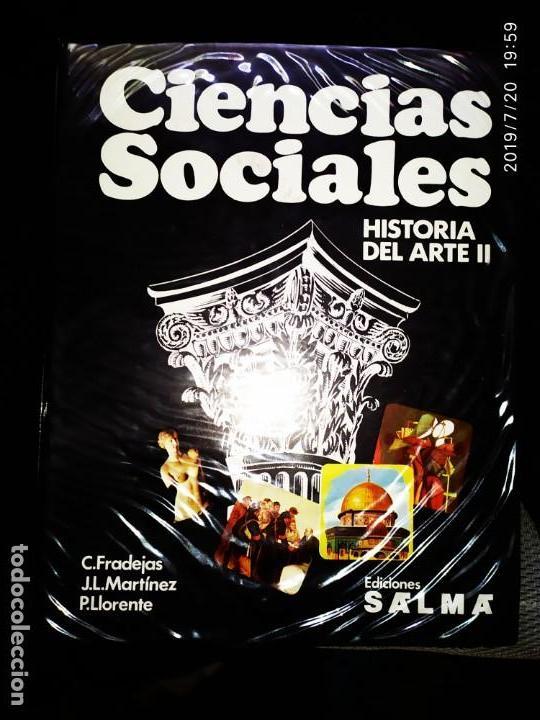DIAPOSITIVAS CIENCIAS SOCIALES HISTORIA DEL ARTE I I TOMO DOS ECIONES SALMA C. FRADE J. L.MARTÍNEZ (Fotografía Antigua - Diapositivas)