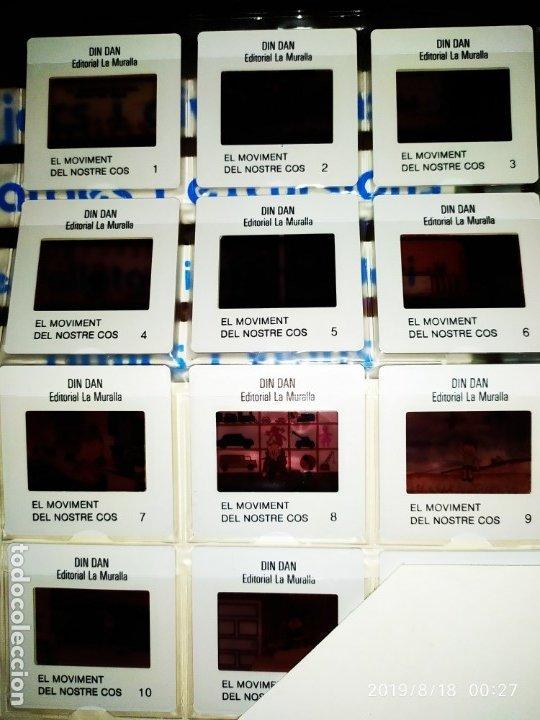 Fotografía antigua: DIAPOSITIVAS DIN DAN EDITORIAL LA MURALLA 23 COMPLETAS - Foto 5 - 173997304