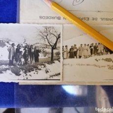Fotografía antigua: TORREMANZAS ALICANTE NEVADA 1934. Lote 174002052