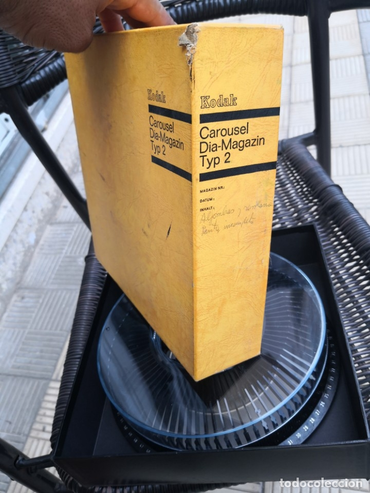 Fotografía antigua: Kodak Carousel Diamagazin para diapositivas - Foto 4 - 175225108