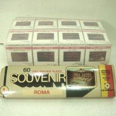 Fotografía antigua: 60 DIAPOSITIVAS COLOR - ROMA 1 ITALIA AÑOS 60 - EN ESTUCHE - SOUVENIR KODAK - DIAPOSITIVA UNO I. Lote 177200998