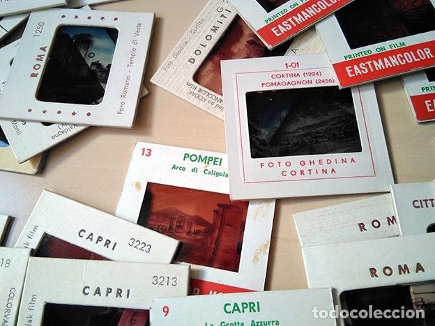 Fotografía antigua: Lote 70 diapositivas Italia: Roma, Florencia, Venecia, Pisa, Capri… 1960 - Foto 3 - 178669908