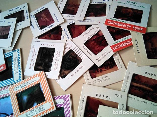 Fotografía antigua: Lote 70 diapositivas Italia: Roma, Florencia, Venecia, Pisa, Capri… 1960 - Foto 5 - 178669908