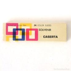 Fotografía antigua: DIAPOSITIVAS CASERTA (ITALIA) - 24 DIAPOSITIVAS SOUVENIR - AÑOS 70. Lote 179099293