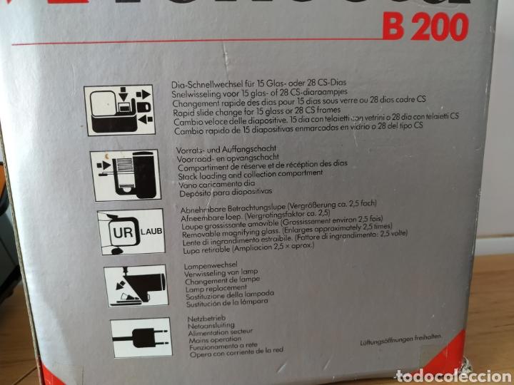 Fotografía antigua: Visor de diapositivas Reflecta B200 - Foto 7 - 179390155