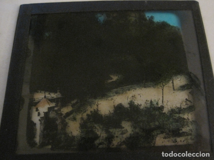 Fotografía antigua: MONTSERRAT-CAMINO S.GERONIMO-FOTOGRAFIA DIAPOSITIVA CRISTAL COLOREADA-VER FOTOS(V-17.776) - Foto 4 - 179536595