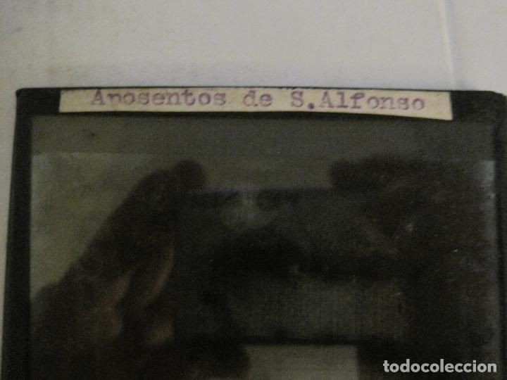 Fotografía antigua: MONTSERRAT-APOSENTOS S.ALFONSO-FOTOGRAFIA DIAPOSITIVA CRISTAL COLOREADA-VER FOTOS(V-17.771) - Foto 5 - 179537192