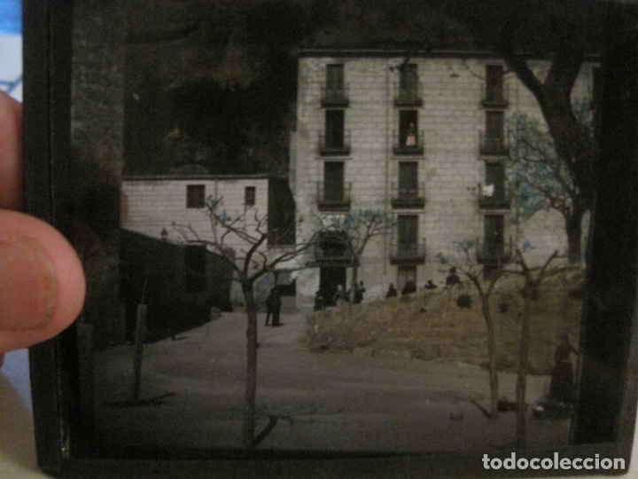 Fotografía antigua: MONTSERRAT-APOSENTOS S.ALFONSO-FOTOGRAFIA DIAPOSITIVA CRISTAL COLOREADA-VER FOTOS(V-17.771) - Foto 6 - 179537192