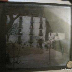 Fotografía antigua: MONTSERRAT-APOSENTOS S.ALFONSO-FOTOGRAFIA DIAPOSITIVA CRISTAL COLOREADA-VER FOTOS(V-17.771). Lote 179537192
