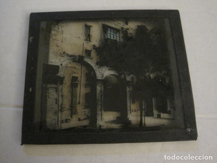 Fotografía antigua: MONTSERRAT-CLAUSTROS ANTIGUOS-FOTOGRAFIA DIAPOSITIVA CRISTAL COLOREADA-VER FOTOS(V-17.769) - Foto 5 - 179537360
