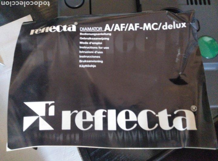 Fotografía antigua: Proyector diapositivas Reflecta Diamantor AF sin uso con embalaje original. Funciona perfectamente - Foto 4 - 180937003