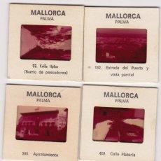 Fotografía antigua: MALLORCA 10 Y BARCELONA 2 DIAPOSITIVAS IRISCOLOR BARCELONA Y A. CAMPAÑA. Lote 183513822