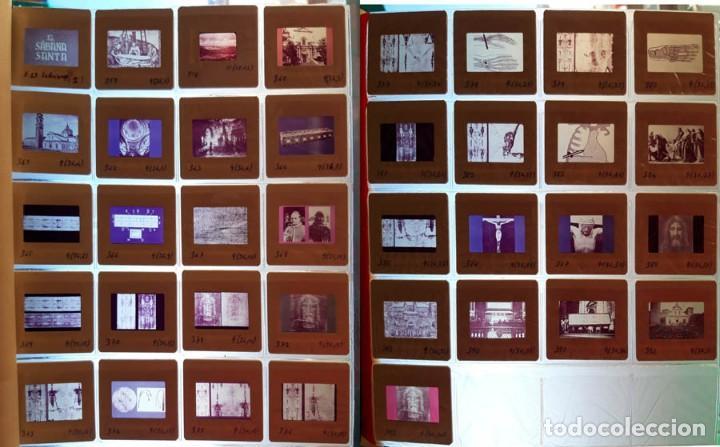 37 DIAPOSITIVAS DE LA SÁBANA SANTA, AÑOS 60 (Fotografía Antigua - Diapositivas)