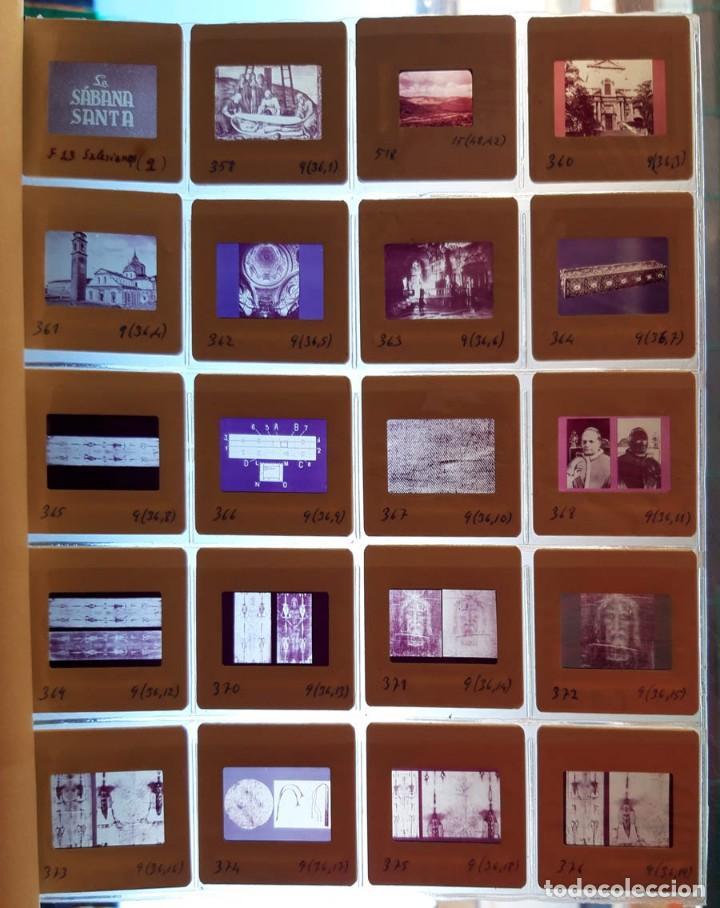 Fotografía antigua: 37 diapositivas de la Sábana Santa, años 60 - Foto 2 - 188484267