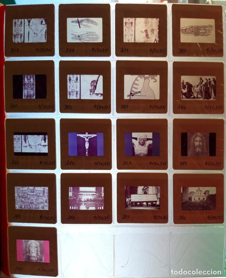 Fotografía antigua: 37 diapositivas de la Sábana Santa, años 60 - Foto 3 - 188484267