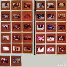 Fotografía antigua: 43 DIAPOSITIVAS DE LA MISA, CENA DE LOS CRISTIANOS, AÑOS 60. Lote 188495955