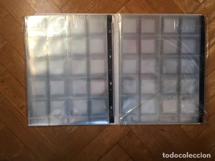 Fotografía antigua: 2 Packs de FUNDAS de DIAPOSITIVAS 35 mm. (Avery) Nuevas ¡Originales! - Foto 2 - 188736132